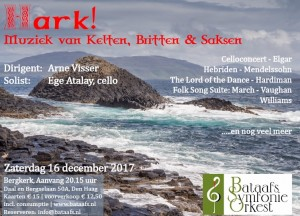 Hark-Kerstconcert 2017 poster