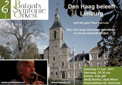 flyer bataafs concert limburg