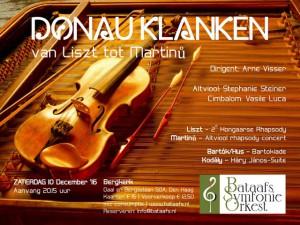 luister naar 3,5 minuut  Donau Concert (december 2016)